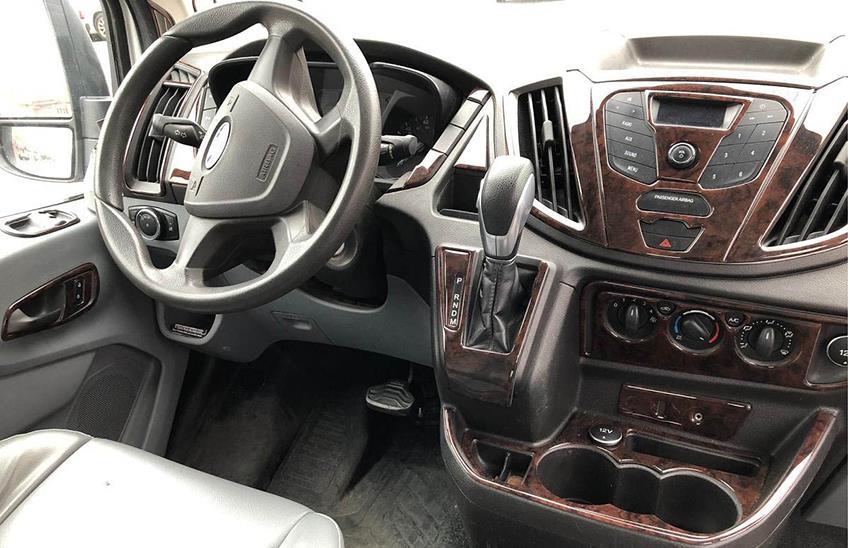 ford transit dash interior kit trim installed examples
